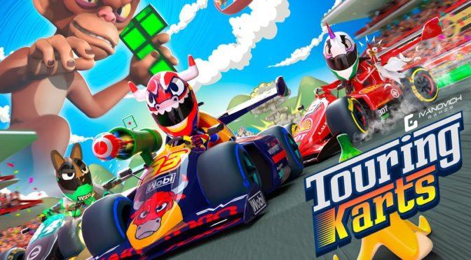 Touring Karts – Game de kart permite até 8 jogadores em disputas online com suporte a óculos VR