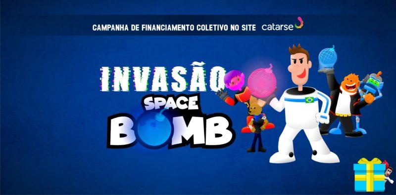 Conheça Space Bomb, o novo game do Diverte Games