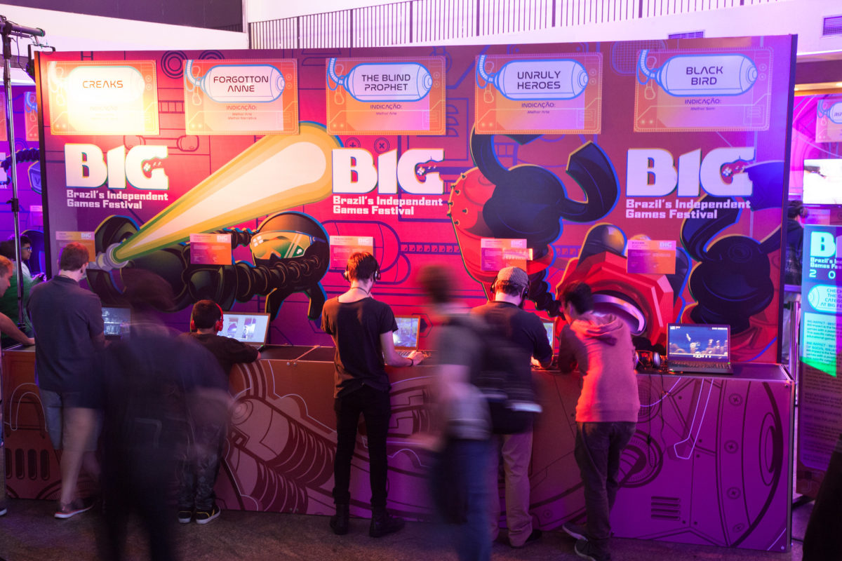Gigantes do mercado de games participam do BIG Digital 2020