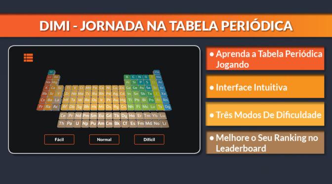 """""""Dimi – Jornada na Tabela Periódica"""" – game para Android ensina a memorizar a Tabela Priódica"""