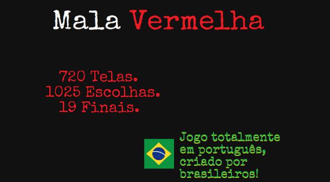 Mala Vermelha – Game indie brasileiro desafia jogador e desvendar um crime sinistro