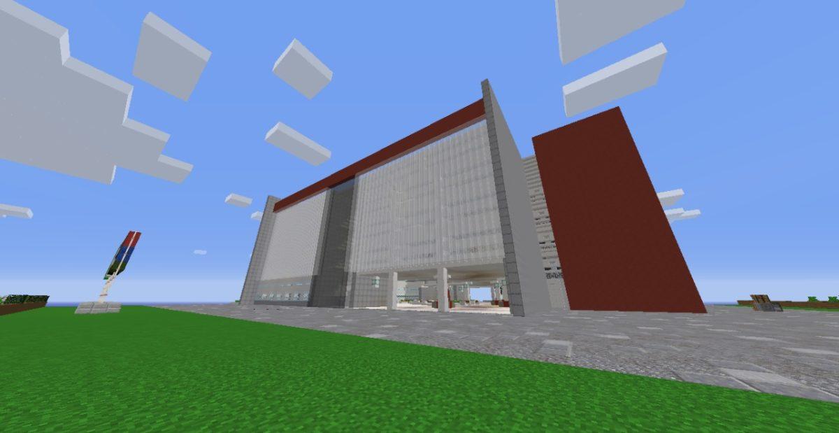 Alunos do SESI – Jundiaí – usam Minecraft para recriar prédio da escola