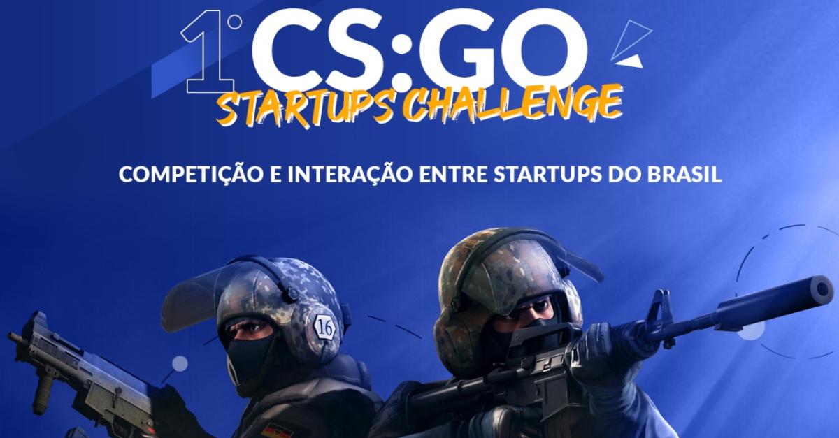 Principais Startups do Brasil se unem para campeonato de Counter Strike: GO