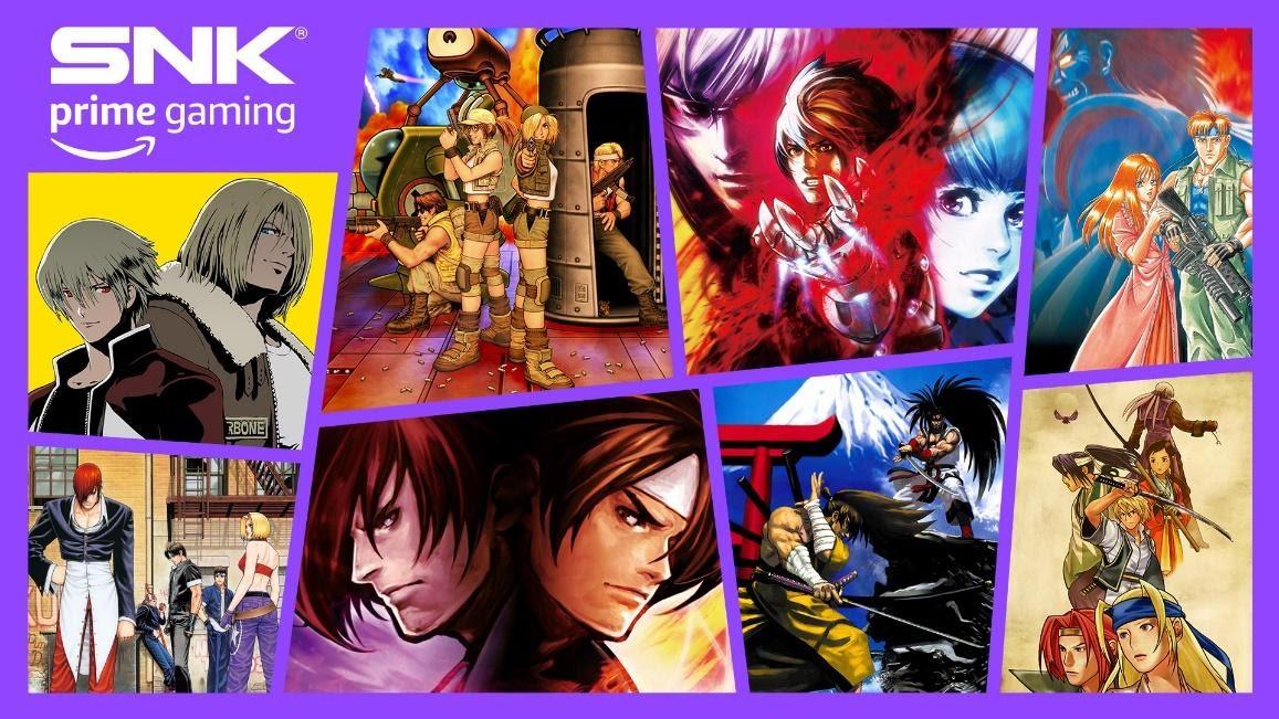 Prime Gaming oferece mais 8 games da SNK gratuitamente