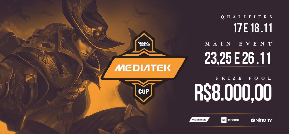 MediaTek e Xiaomi promovem campeonato com game MOBA Arena of Valor