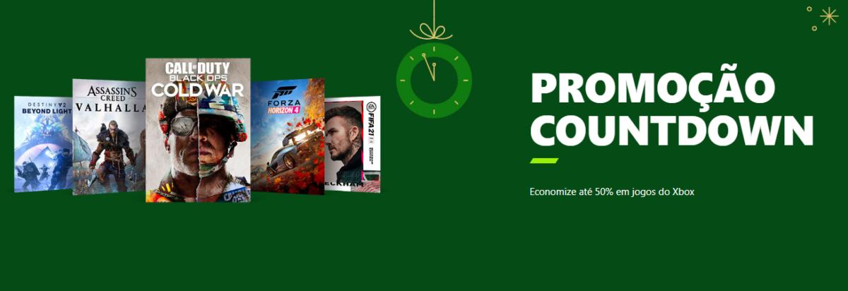 Xbox Store oferece descontos de até 50% para o Natal e Ano Novo