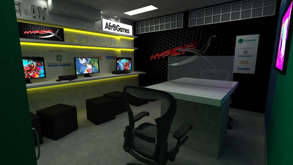 AfroGames inova com sala de stream dentro de favela em parceria com a HyperX