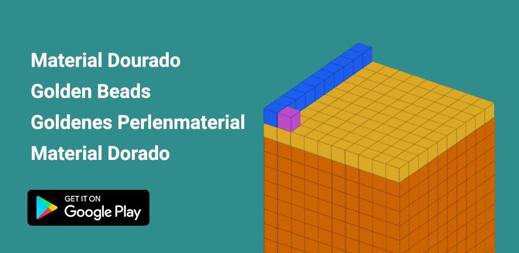 Material Dourado – título auxilia crianças a memorizar o sistema decimal