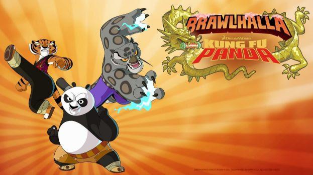 Ubisoft anuncia crossover de Kung Fu Panda em Brawlhalla