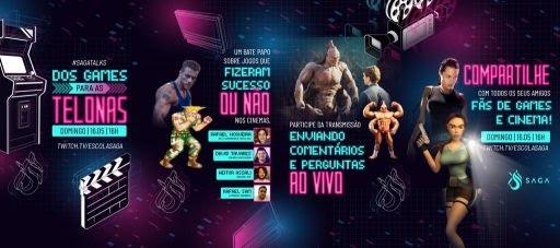 SAGA Talks debate sobre os games que viraram filmes