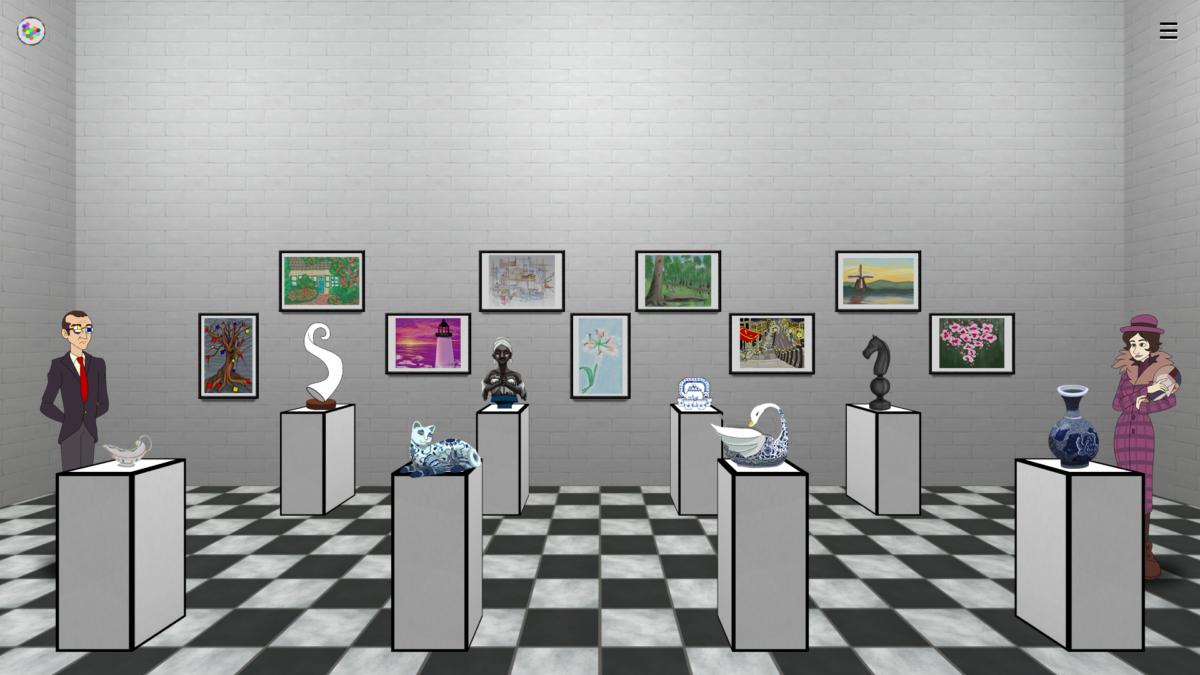 Um videogame que vira arte! Lantana Games apresenta o game Mondrian – Plastic Reality