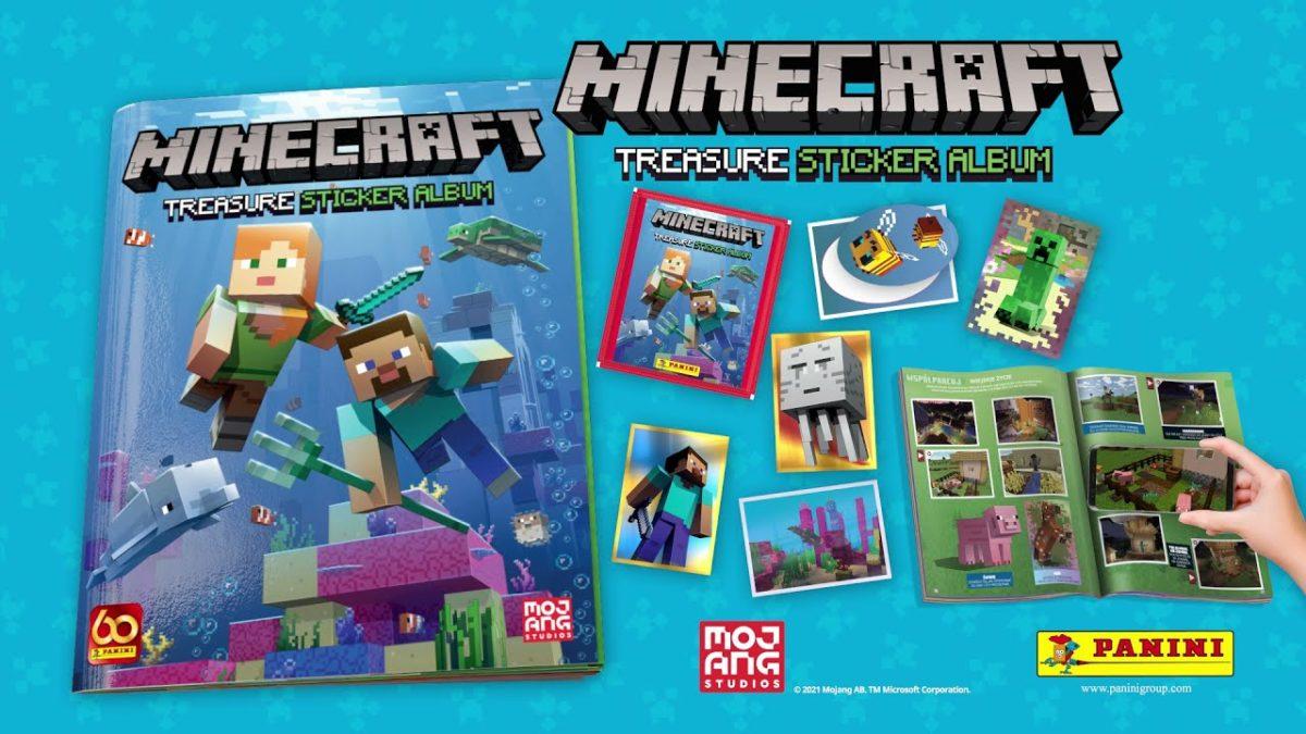 Minecraft ganha álbum de figurinhas da Panini